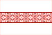 中式古典花纹腰花移门图案