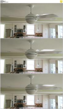 转动的电风扇实拍视频素材