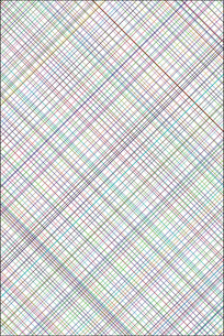 彩色斜纹交叉移门图案