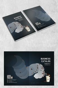 创意咖啡画册封面设计