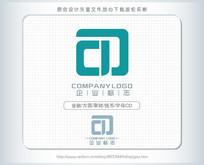 c字母p理财金融logo