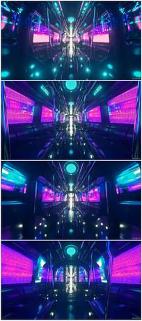 时尚炫酷晚会LED背景视频
