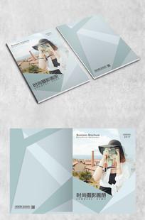 时尚摄影拼接画册封面