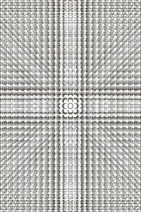 现代立体圆点移门图案 CDR