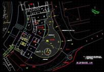 幼儿园平面定位图 dwg
