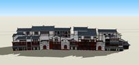 中国风式古建筑
