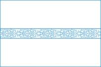 中式卷草雕刻图案
