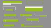 11款绿色MG字幕条带A通道