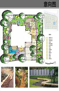 B型别墅庭院设计
