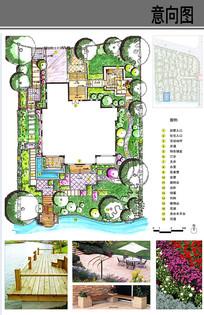 D型别墅庭院设计