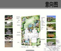 别墅庭院详细图