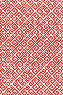 抽象几何纹雕刻图案