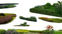 地被灌木植物组团