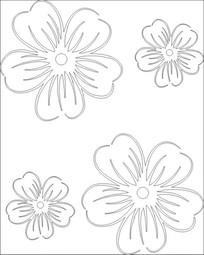花朵雕刻图案