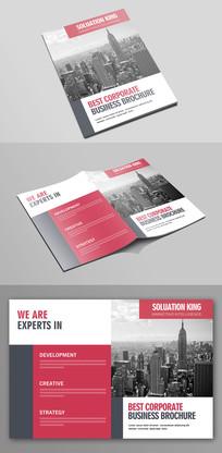 简洁大气企业产品画册封面设计