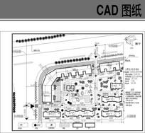 南宁某小区规划CAD图 dwg