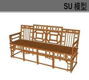 木质沙发椅凳