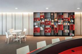 室内书房书柜设计
