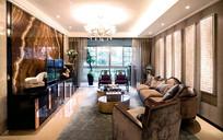 现代豪华客厅装修