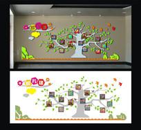 校园文化建设发展照片墙
