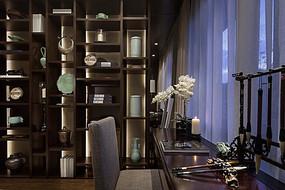新中式书房空间设计