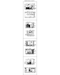 雅致客厅空间设计立面图合集