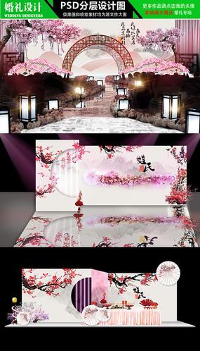 三生三世十里桃花主题婚礼设计