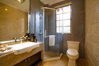 现代宾馆家装卫生间设计