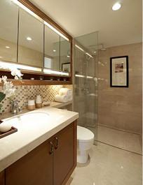 现代精美卫浴间设计
