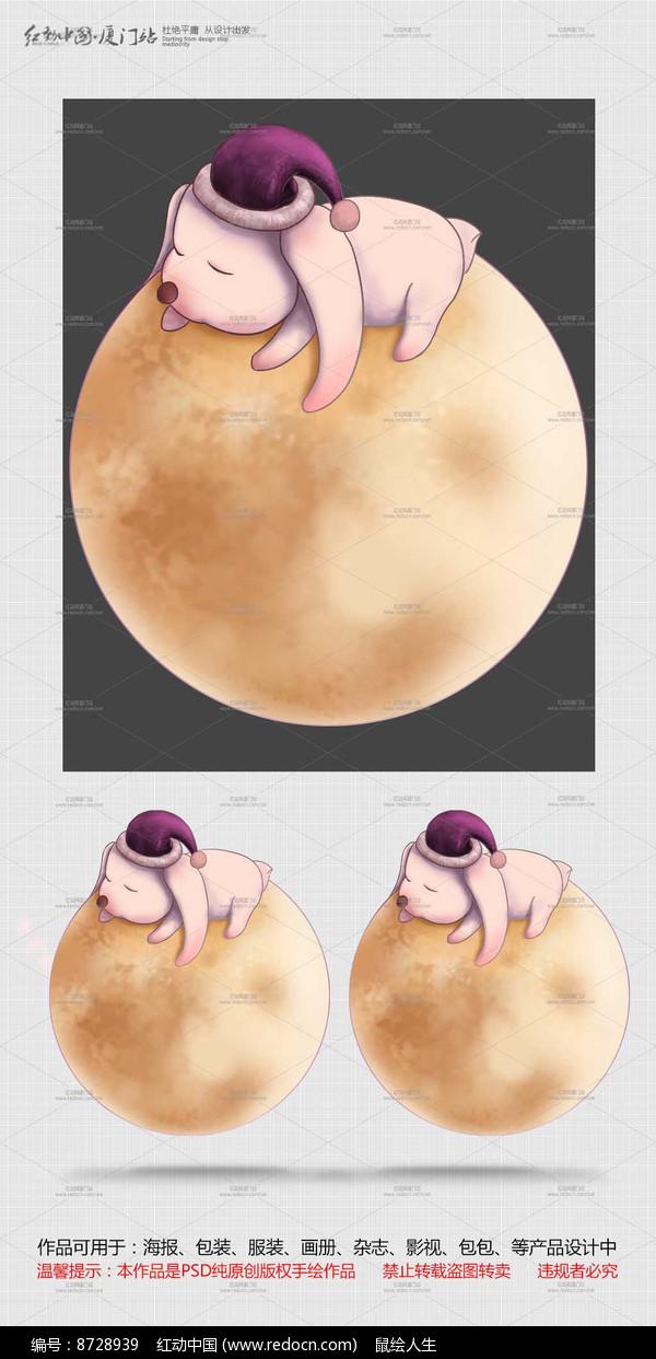 玉兔卡通形象图片