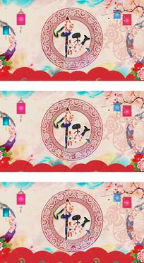 中国风矢量中秋节主题背景视频