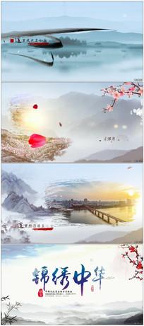 中华水墨风景宣传视频模板