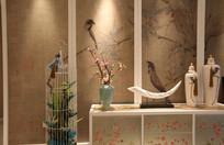 中式雅致装饰边柜