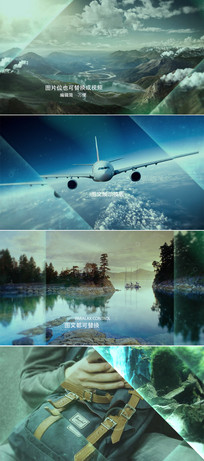 大气图文宣传展示ae模板
