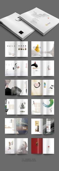 中国风建筑装饰画册