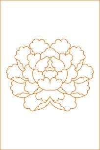 花蕊雕刻图案