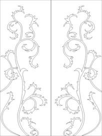 剑花雕刻图案