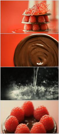 精致甜品制作餐饮美食高清视频 mp4