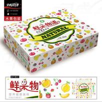 鲜果物语通用水果包装设计