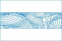 波浪移门图案