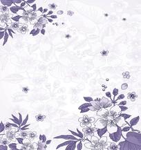花朵花卉花瓣底纹移门装饰画 JPG