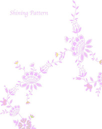 花朵花卉花藤移门装饰画