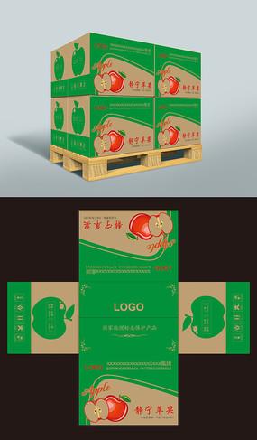 红富士苹果包装盒图片