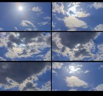 蓝天白云视频