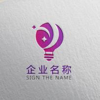 传媒灯具企业标志