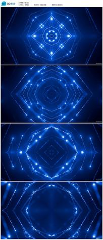 粒子光线LED背景视频素材