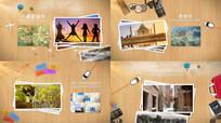 旅游旅行景区宣传片AE模版
