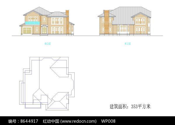 小型独栋别墅设计图片