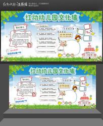 幼儿园文化墙宣传栏黑板报