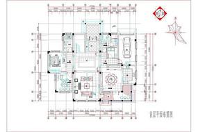 整套欧式别墅设计装修图纸